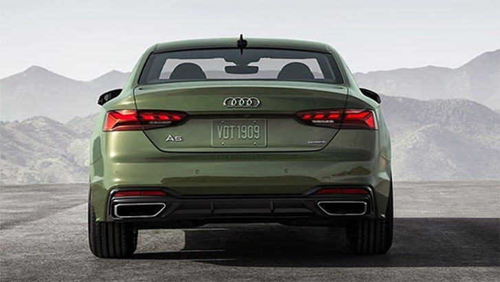 2021 Audi A5 Coupe engineering
