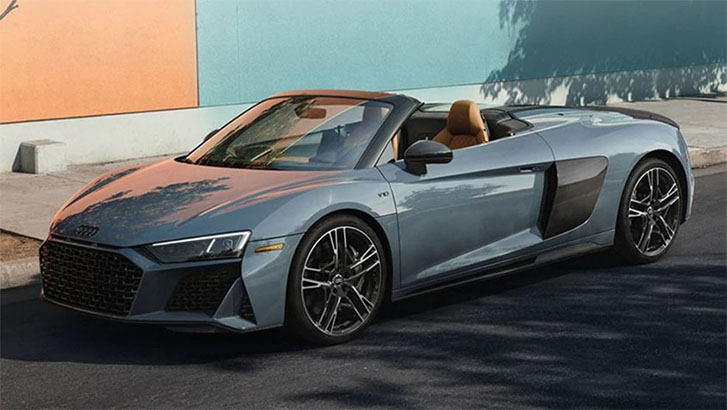 2021 Audi R8 Spyder engineering