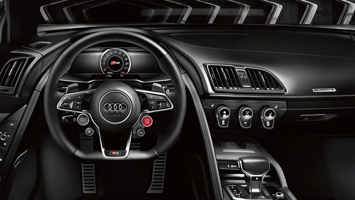 2021 Audi R8 Spyder technology