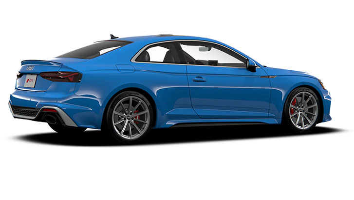 2021 Audi RS 5 Coupe engineering