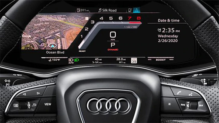 2021 Audi SQ8 technology
