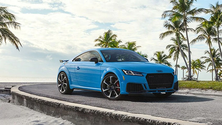 2021 Audi TT RS Coupe engineering