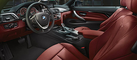 2017 BMW 4 Series 430i Convertible comfort