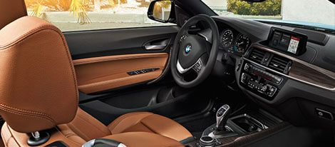 2018 BMW 2 Series 230i Convertible Navigation system