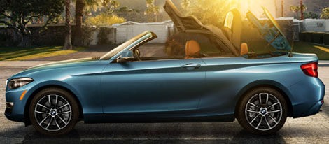 2018 BMW 2 Series 230i Convertible soft top
