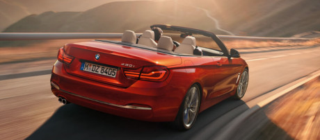 2018 BMW 4 series 430i Convertible performance