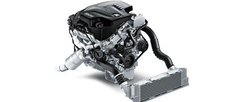 2018 BMW 4 series 440i Coupe Engine