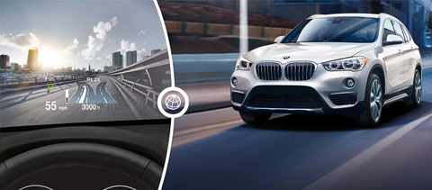 2018 BMW X Models X1 sDrive28i Head-up Display
