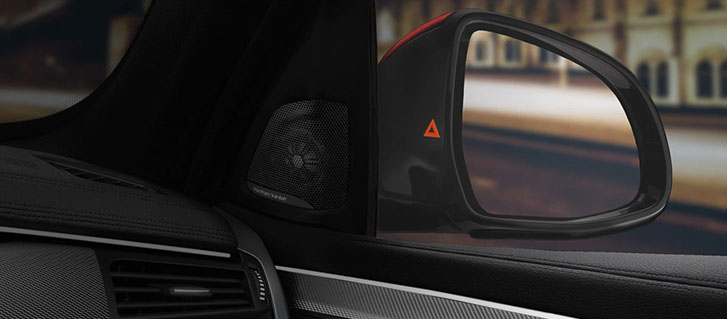 Active Blind Spot Detection