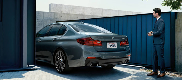 2020 BMW 5 Series M550i xDrive Sedan comfort