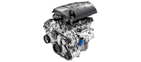 3.6L V-6 VVT WITH DIRECT INJECTION