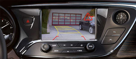 REAR VISION CAMERA WITH REAR CROSS TRAFFIC ALERT