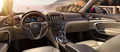 Buick Regal Interior Overview