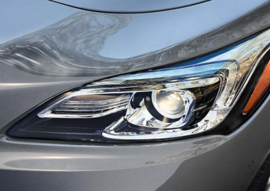HID Headlamps and LED-Accented Taillamps