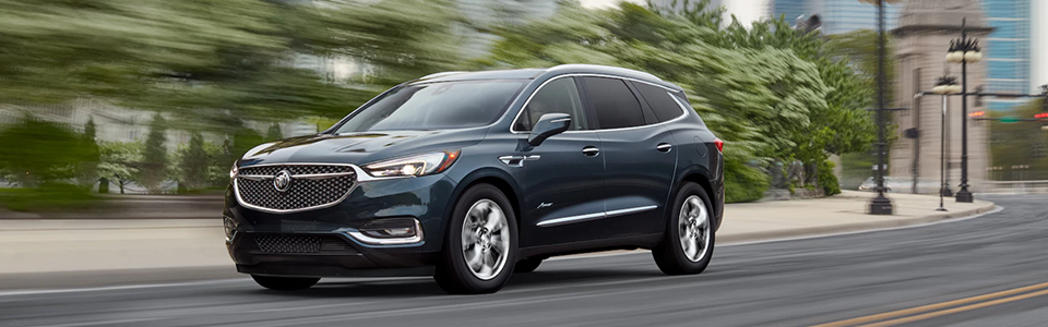 2018 Buick Enclave Avenir Safety Main Img