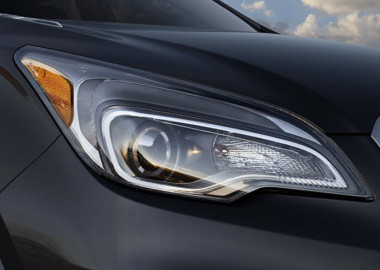Sculpted Headlamps