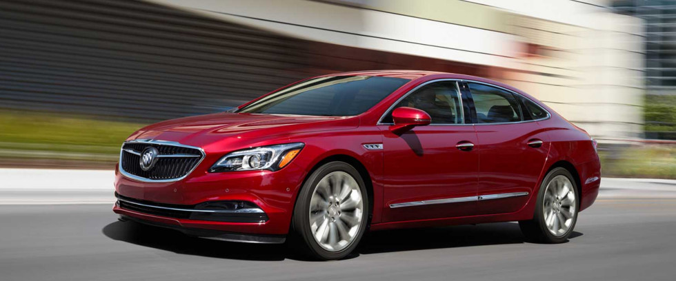 2018 Buick Lacrosse Appearance Main Img