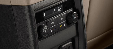 Rear-Seat Climate Controls