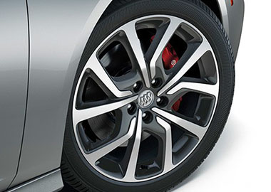 19-Inch Aluminum Wheels with Technical Gray Accents