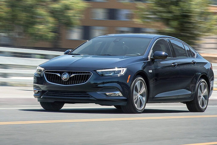 2020 Buick Regal Avenir performance
