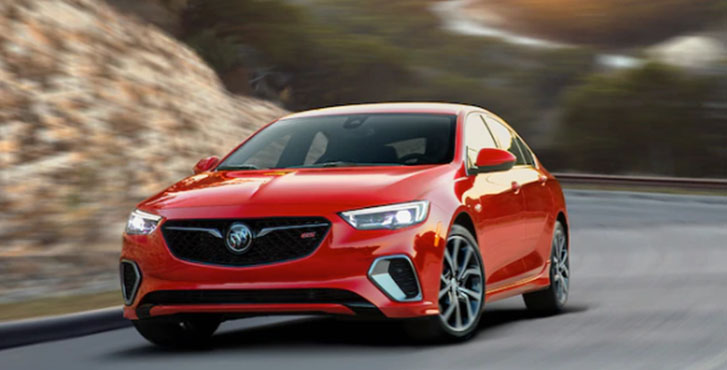 2020 Buick Regal GS performance