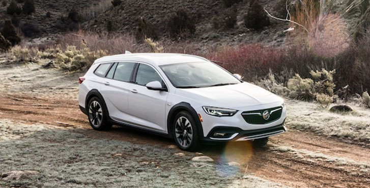 2020 Buick Regal TourX performance