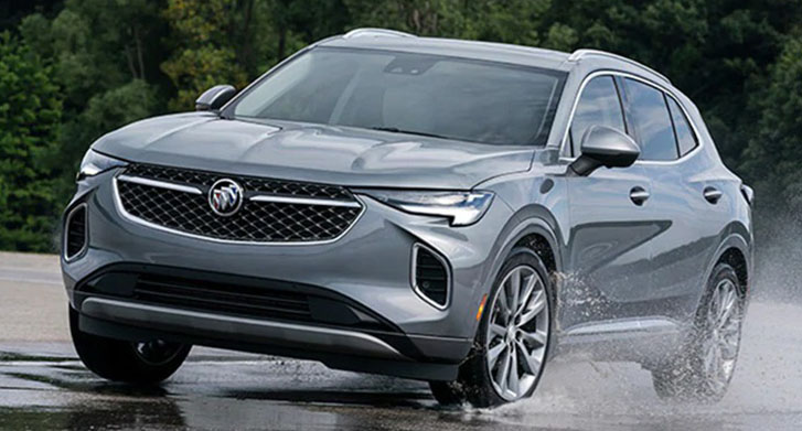2021 Buick Envision performance
