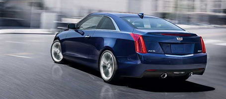 2015 Cadillac ATS Coupe performance