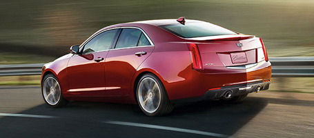 2015 Cadillac ATS Sedan performance
