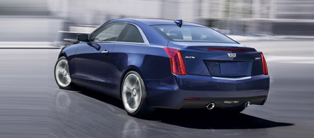 2016 Cadillac ATS Coupe performance