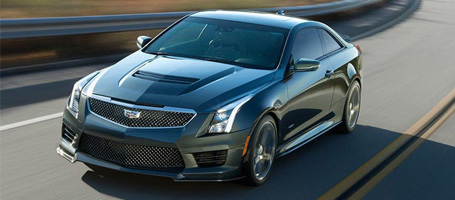 2016 Cadillac ATS-V Coupe performance