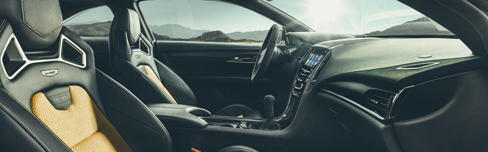 2016 Cadillac ATS-V Coupe Safety Main Img