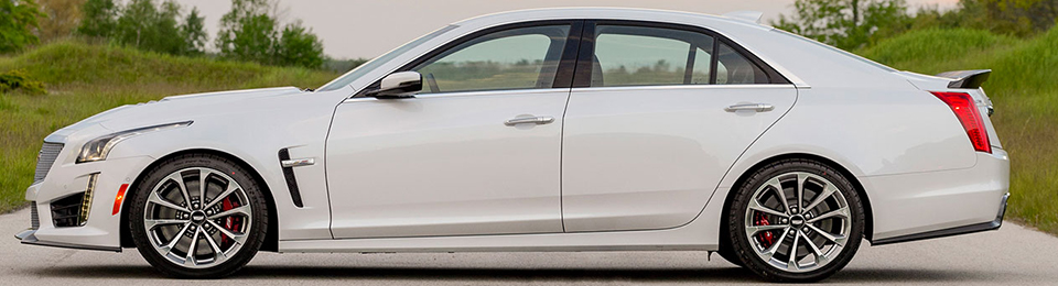 2018 Cadillac CTS-V Sedan Safety Main Img