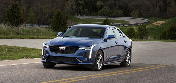 2020 Cadillac CT4-V performance