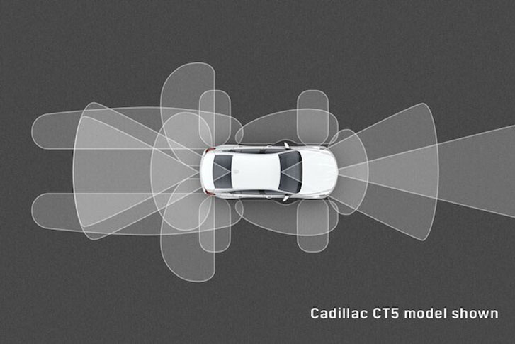 2020 Cadillac CT4-V safety