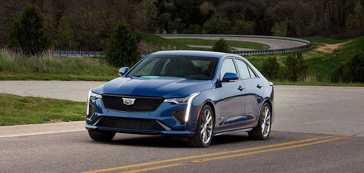 2021 Cadillac CT4-V performance