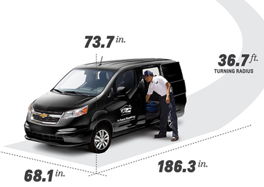 2015 Chevrolet City Express appearance