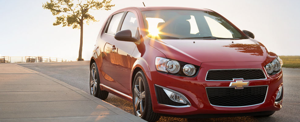 2015 Chevrolet Sonic Hatchback Appearance Main Img