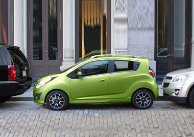 2015 Chevrolet Spark appearance