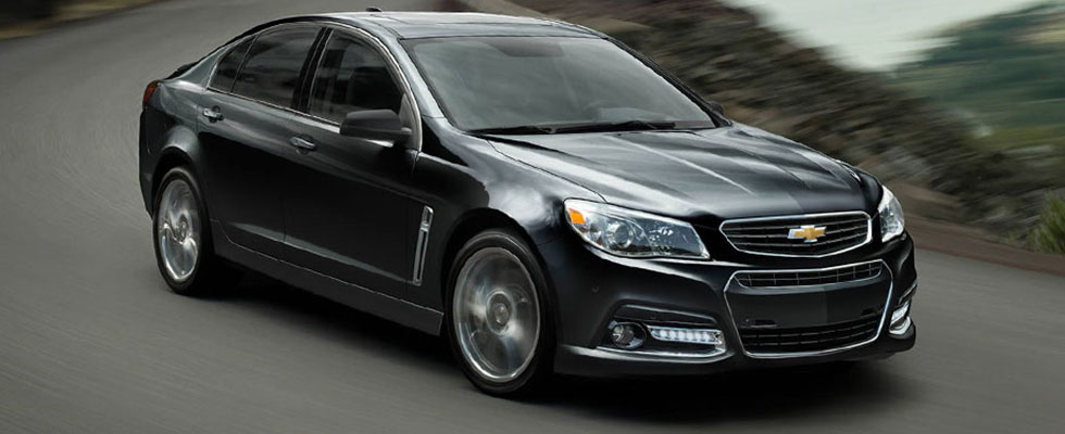 2015 Chevrolet SS Sedan Appearance Main Img
