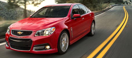 2015 Chevrolet SS Sedan performance
