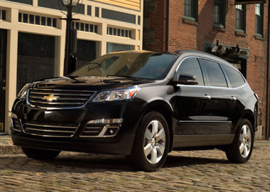 2015 Chevrolet Traverse appearance