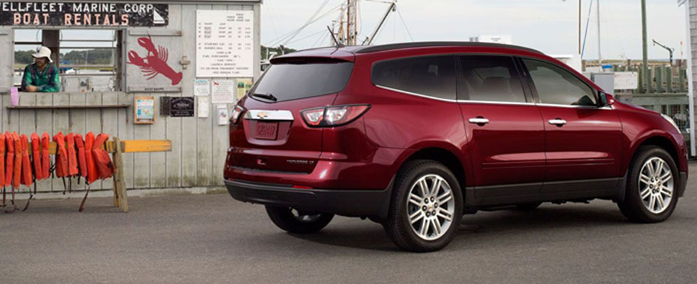 2015 Chevrolet Traverse Safety Main Img