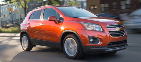 2015 Chevrolet Trax safety