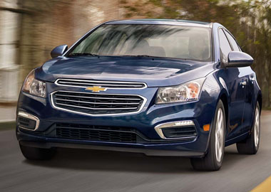 2016 Chevrolet Cruze Limited appearance