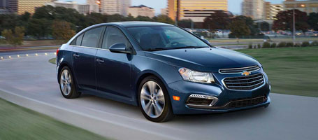 2016 Chevrolet Cruze Limited performance