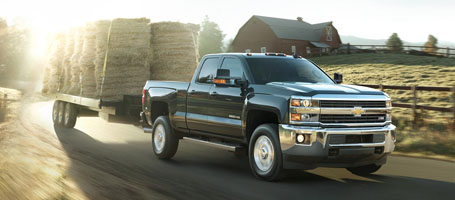 2016 Chevrolet Silverado 2500HD performance
