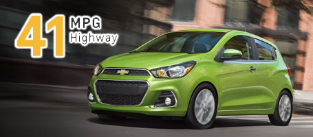 2016 Chevrolet Spark performance