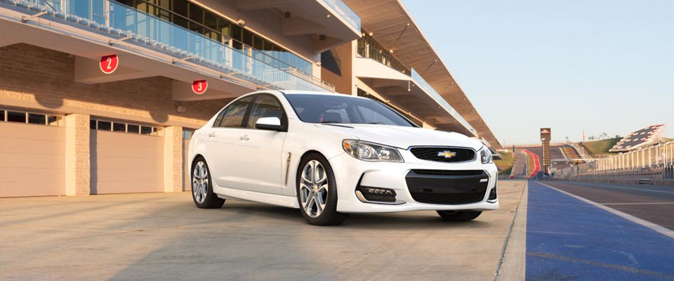 2016 Chevrolet SS Sedan Appearance Main Img