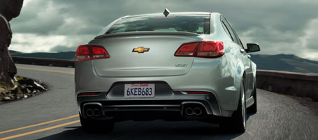 2016 Chevrolet SS Sedan performance